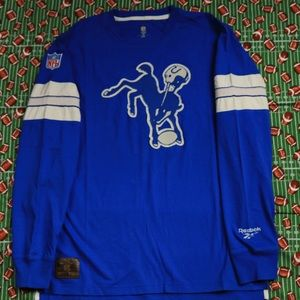 Indianapolis Colts Reebok Embroidered Long Sleeve